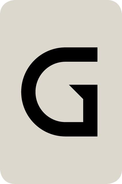 De letter G