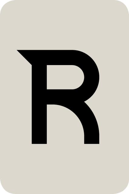 De letter R