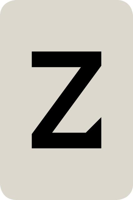 De letter Z