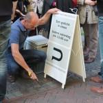 Letter 258 Rob van Dokkum maakt de inscriptie 28-9-2013