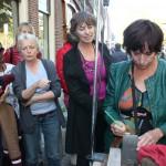 Letter 258 Jeanne van den Heuvel schrijft de inscriptie zelf 28-9-2013