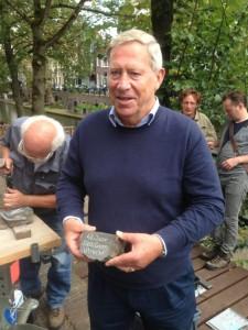 Letter 580 Jan van Stekelenburg met zijkant
