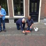 Letter 580 Jan van Stekelenburg - Jan van der Leeden en Karel Mol leggen de Letter terug