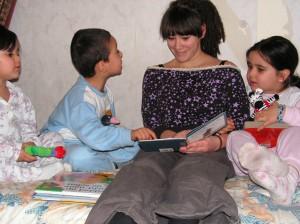 VoorleesExpress voorlezer en kinderen