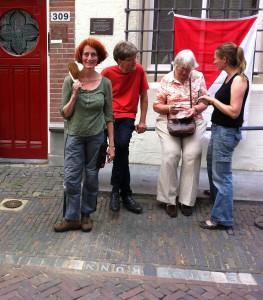 Letter 653 - de steen terug in de straten van Utrecht