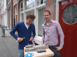Letter 652 geschonken door Martijn Pardoel, Utrecht, gemaakt door Toon Rijkers