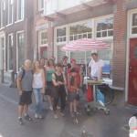 660 - Utrecht Free Tours tonen het maken van de Letters van Utrecht iedere zaterdag