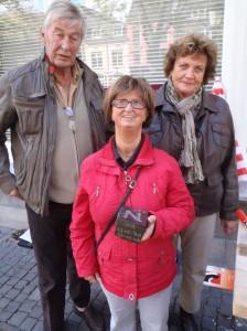 Letter 665 N met tekst in zijkant en sponsors Jan, Mariëtte en Ann van der Leeden