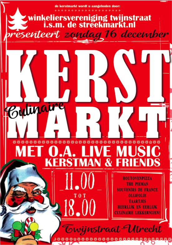 Kerstmarkt in de Twijnstraat