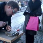 Letter _676 gemaakt door John van Essen, met Annie Brouwer