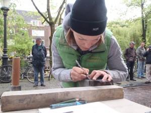 Letter 698: Sanna Snellaars maakt de Letter