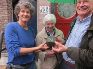 Letter 704 N - Martijn 60! met Joke, Anneke en Martijn