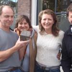 Letter 722 De Lichtjes, Adriaan, Roosje en Klaas