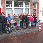 737 - Utrecht Free Tours op bezoek bij het maken van Letter 737