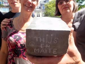 Letter 763 bijgedragen voor Thijs en Maite
