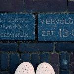900 Nellekes voeten voor de vooruitgeschoven slotstenen