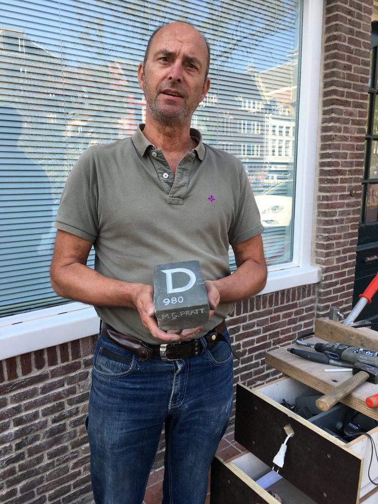 980 D - met Rob van Dokkum